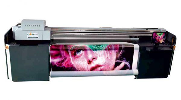 Inkjet UV Flachbettdrucker Flora XTRA 2000h von Flora