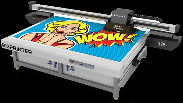 UV Inkjet Flachbettdrucker BIGJET UV 2031iPS