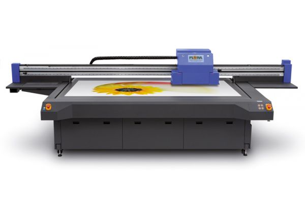 Inkjet UV Flachbettdrucker Flora XTRA 2512 von Flora